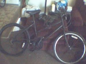 24 inch mens or girls Black Bike - (visalia) for Sale in ...