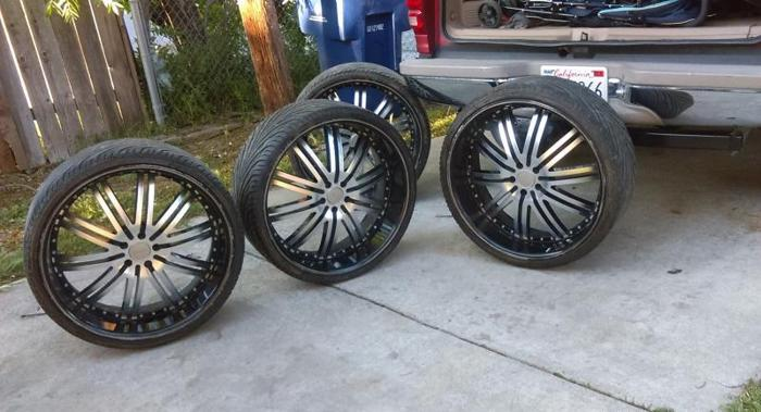 24 Inch Rims For Sale In California Classifieds Buy And Sell In