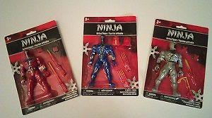 24 Ninja Action Figures With Accessories