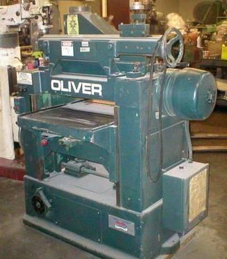 24 OLIVER PLANER 860 796 0230 for sale....