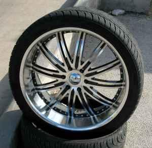 "24"" Rims and tires for GMC, Chevy, Escalade Truck ..."