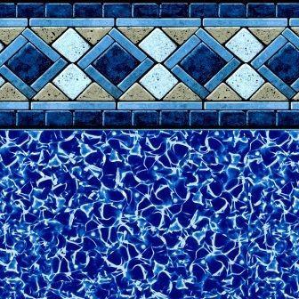 24 Round X 48 Delta Tile Above Ground Beaded Pool Liner Huntland Tn For Sale In Huntsville