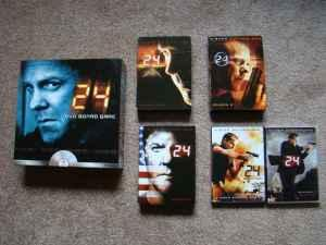 24 Season 4,5,6, Redemption, & Season 7 Plus 24 The DVD