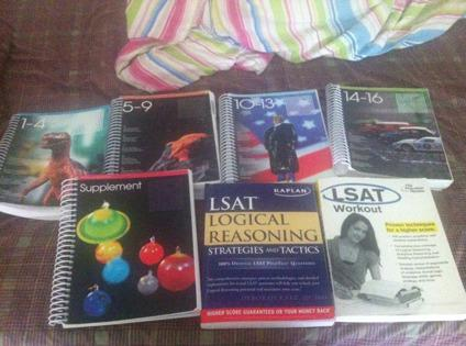 Obo selling seven lsat study guide books for sale in los angeles 245 obo selling seven lsat study guide books malvernweather Gallery
