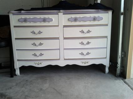 249 French Provincial Dresser And Nightstand Mt