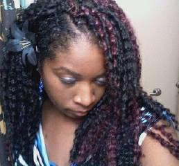 Crochet Kinky Twist Braids Pictures to pin on Pinterest