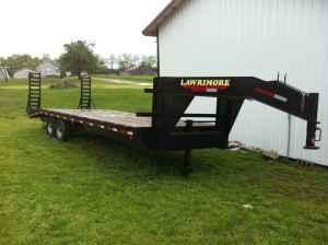 25 ft flatbed gooseneck trailer - $4200 (Harrodsburg)