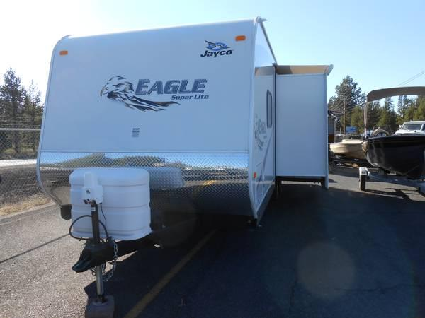 25'JAYCO EAGLE SUPER LITE WITH SLIDE - $27500