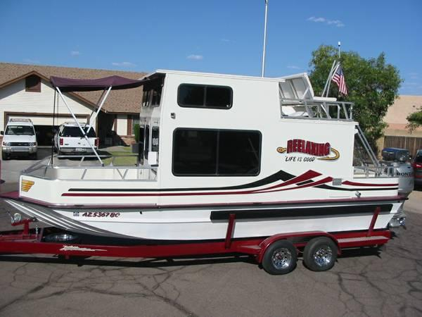 25 Trailerable Nomad Houseboat For Sale In Flagstaff