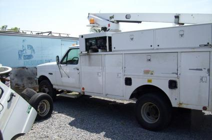 Parts-97 Ford F-450 Bucket Tk & Onan Generator for Sale in East