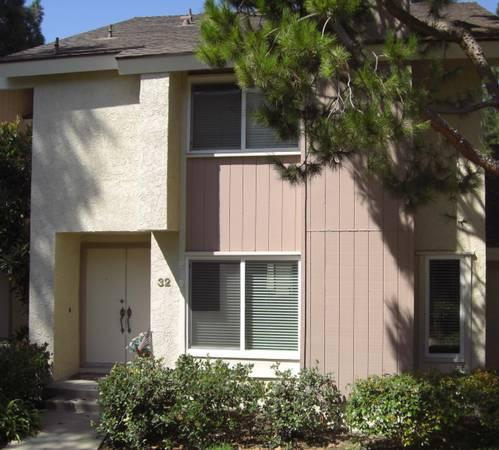 3br 1646ft Spacious Irvine 2 Story 3 Bedroom Townhome W Super Quiet Location For Rent In