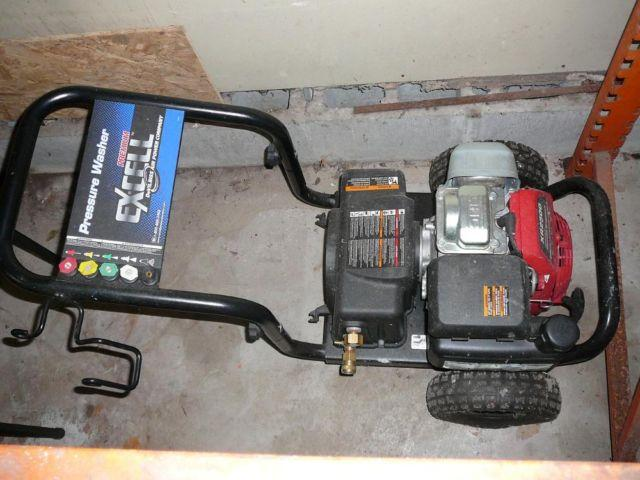 2500 PSI Portable Power Washer