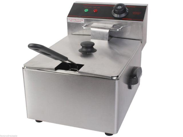 2500W Deep Fryer Electric Commercial Tabletop Restaurant