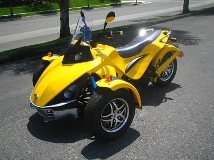250cc Prowler 3 Wheel Street Cruiser Street Legal For