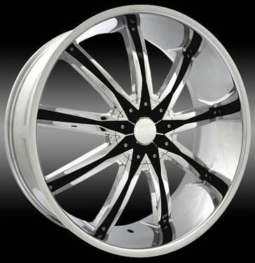 26 Chrome Wheels DW29 Ford F-150 Expedition Explorer Ranger