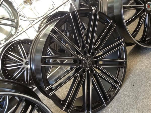 ███▶ 26 Inch rims & tires package many styles to cho -