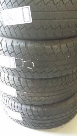 265/65R18 SET OF 4 GOOD USED BRIDGESTONE DUELER A/T