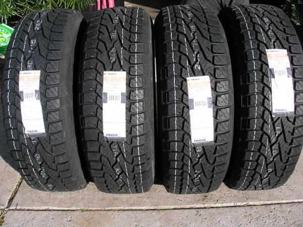 2657516 265 75 16 milestar at set of 4 new tires tahoe chevy pickup for sale in hundred west. Black Bedroom Furniture Sets. Home Design Ideas