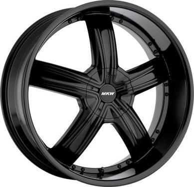 26Black Wheels MKW M103 Tires Dodge Ram 1500 Durango Dekota