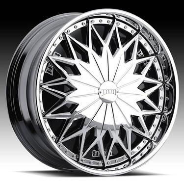 26DUB Joker Spinners Chrome Wheels Cadillac GMC Tahoe