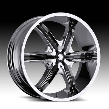 26Millani Bel Air6 Chrome Wheels Ford F150 Expedition