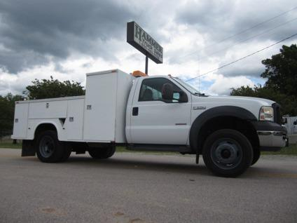 $27,500 2006 Ford F-550 4x4 11 Utility Service Truck