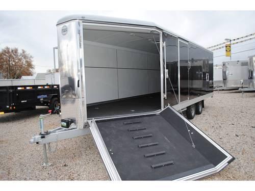 27 Black Wells Cargo Snowmobile Utv Trailer Www