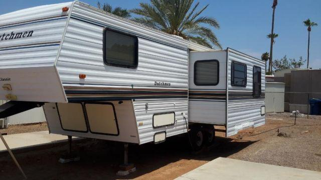 27 Ft Dutchmen Classic Fifth Wheel With Slide Out Mid
