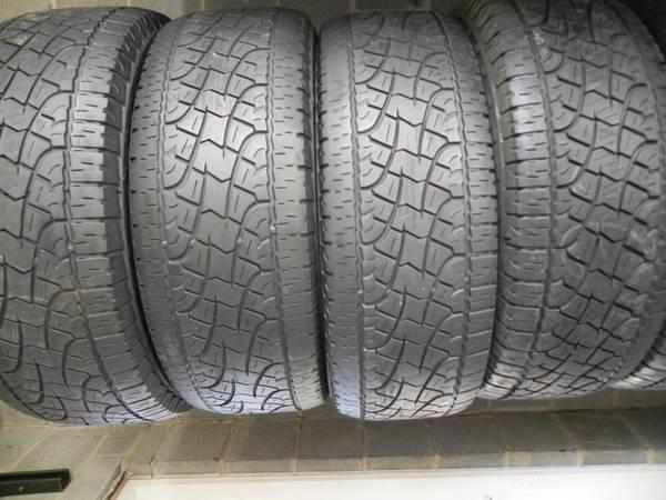 275 55r20 pirelli scorpion atr matched set tires warrantied for sale in birmingham alabama. Black Bedroom Furniture Sets. Home Design Ideas