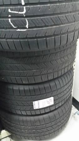 275/55R20 SET OF 4 GOOD USED GOODYEAR EAGLE LS2 TIRES -