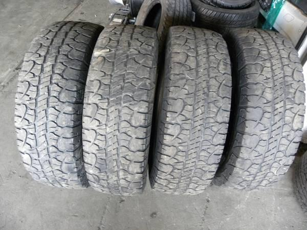 275/65/20 BFGOODRICH RUGGED TERRAIN T/A NICE SET LT275-65-20 - for Sale in Philadelphia ...