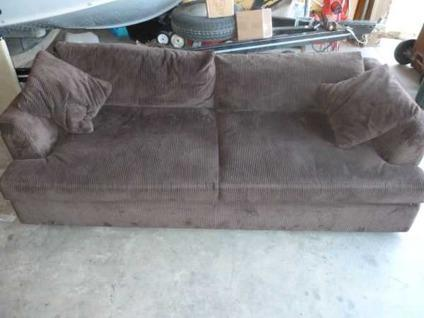 Mccreary modern x tra long x tra deep couch sofa thick for Long couches for sale