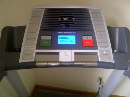 xp pro-form 580 treadmill