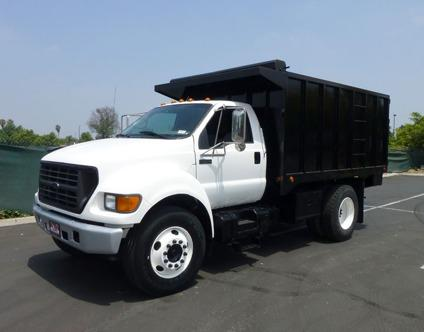 2000 Ford F650 12 Debris Dump Truck For Sale In Norwalk