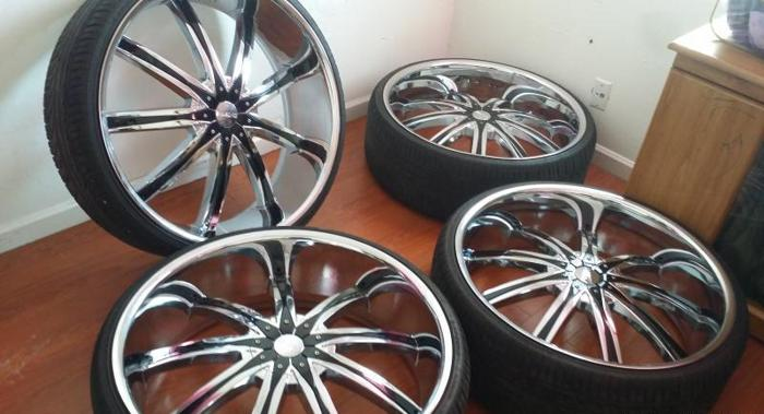 28 Quot Dcenti Rims For Sale In Bakersfield California Classified Americanlisted Com