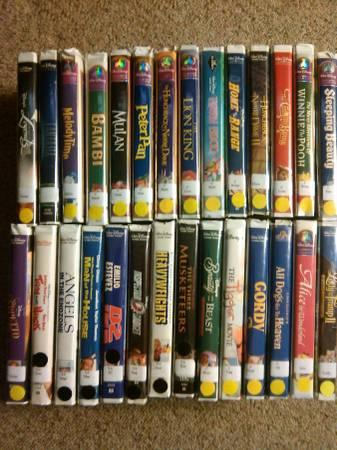 28 Disney Vhs Movies For Sale In Green Bay Wisconsin