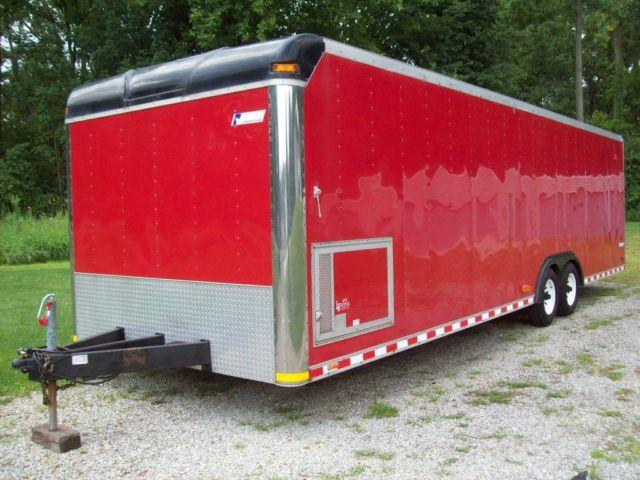28 x 8 1/2 Enclosed Trailer.