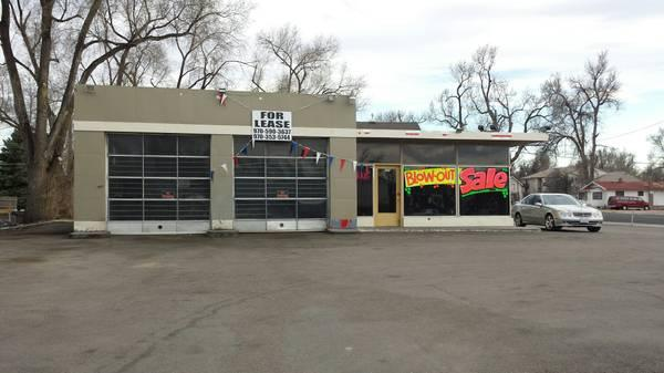 Car Garage For Rent >> Car Lot For Rent In Greeley, Busy Corner, Shop, Great ...
