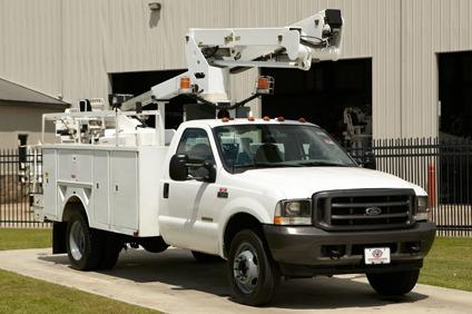 $29,900, Telsta A37-P / 2003 Ford F550 Bucket Truck - Stock # 12225