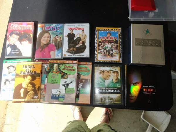 29 DVDs and TV - $25