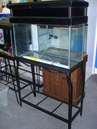 29 gallon fish tank aquarium complete combo for Fish tank and stand combo