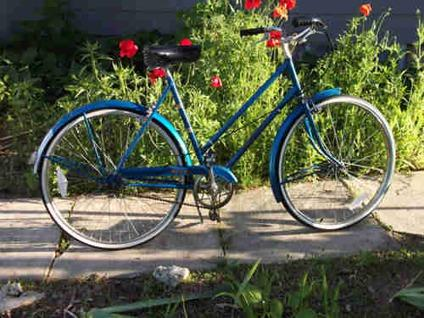 Vintage Raleigh 1972 Blue Bicycle for Sale in Milton ...