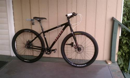 29er single speed voodoo bokor mountain bike full. Black Bedroom Furniture Sets. Home Design Ideas
