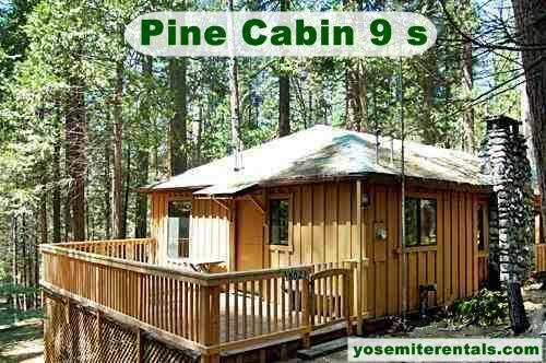 2br 1250ft vacation home rental inside yosemite for Yosemite national park cabin rentals