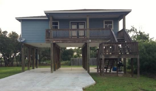 2br stilt home in holiday beach for sale in rockport for Stilt homes for sale
