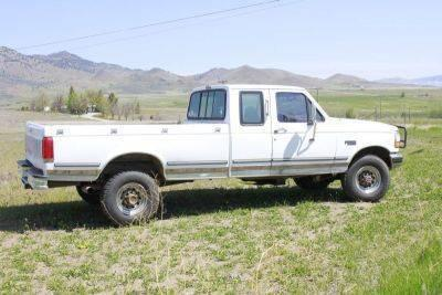1993 ford f250 extra cab 4x4 diesel 7 3l for sale in yreka california classified. Black Bedroom Furniture Sets. Home Design Ideas