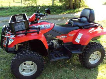 2006 Arctic Cat Trv 400 4x4 Atv Only 700 Miles Mint For