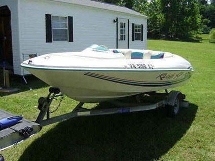 $3,500, 15' regal rush xp 120 jet boat,,matching trailer 1995 orig owner