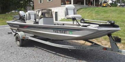 $3,500, 1996 Bass Tracker boat and trailer (Breezewood PA)