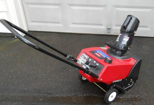 toro single stage snow blower parts